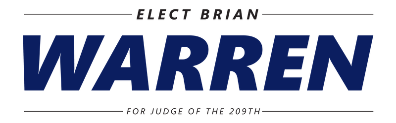 Brian Warren for Judge
